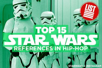 Top 15 Star Wars References In Hip-Hop