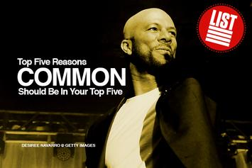 Top Five Reasons Common Should Be In Your Top Five