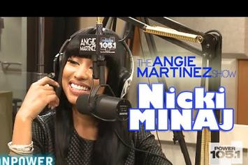 Nicki Minaj Interview With Angie Martinez