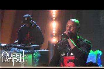 """Common Performs """"Rewind That"""" On Queen Latifah Show"""