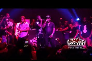 """Jeezy Brings Out Bobby Shmurda At """"Seen It All"""" Release Party"""