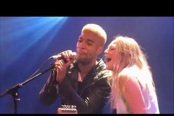 "Kid Cudi Performs ""Pursuit Of Happiness"" With Lissie In Paris"