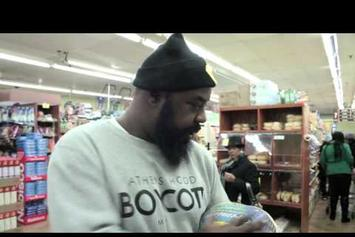 Sean Price Goes Shopping For Thanksgiving