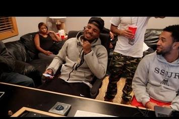 Game & Young Buck In The Studio