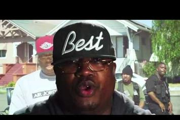"""E-40 Feat. Stressmatic & J.Banks """"Off The Block"""" Video"""