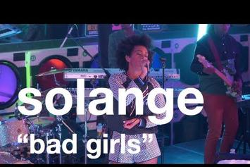 "Solange """"Bad Girls"" Live @ Brooklyn Laundromat"" Video"