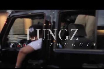 "Lungz ""Still Thuggin BTS Preview"" Video"