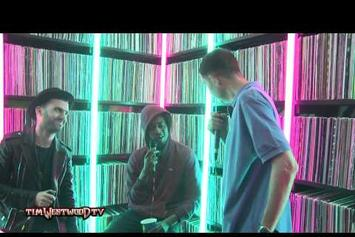"Danny Brown Feat. A-Trak ""Talks Grime, Music, Lean & Fool's Gold"" Video"