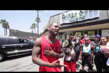 "Game ""Freestyles For Crowd In L.A."" Video"
