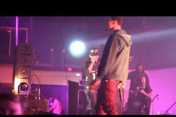 "J. Cole ""Joins Kendrick Lamar On Stage In N.C."" Video"