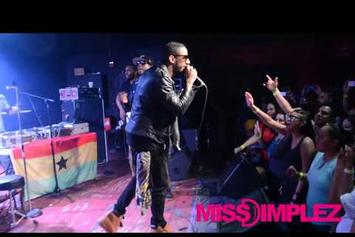 "Talib Kweli Feat. Ryan Leslie ""Perform ""Outstanding"" Live "" Video"