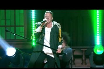"Macklemore Feat. Ryan Lewis ""Perform ""Can't Hold Us"" On Conan"" Video"
