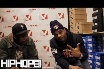 "Jim Jones ""Talks New Mixtapes & Clothing Line"" Video"