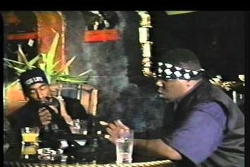 """Notorious B.I.G. Feat. Tupac """"Freestyling With Tupac"""" Video"""