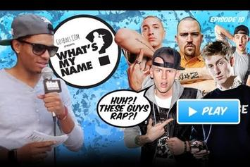 """HNHH """"What's my Name: Episode 10 - White Rappers Edition"""" Video"""