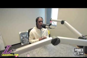 "ASAP Rocky ""Speaks On MTV's Hottest MC List"" Video"