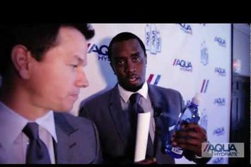 """Diddy Feat. Mark Wahlberg """"Launch AQUAhydrate"""" Video"""