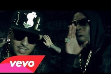 "French Montana Feat. Diddy, Machine Gun Kelly, Red Cafe & King Los ""Ocho Cinco"" Video"