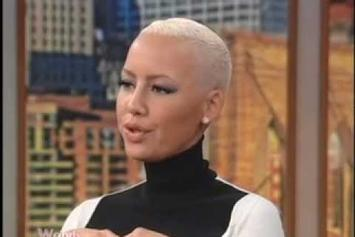 "Amber Rose  ""Opens Up about Kanye, Reggie Bush & Possibly Marrying Wiz"" Video"