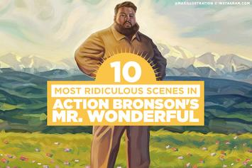 """The 10 Most Ridiculous Scenes In Action Bronson's """"Mr. Wonderful"""""""