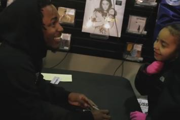 """Kendrick Lamar Does """"To Pimp A Butterfly"""" Signings In New York & L.A."""