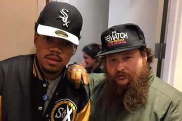 """Action Bronson & Chance The Rapper Perform """"Baby Blue"""" On Letterman"""