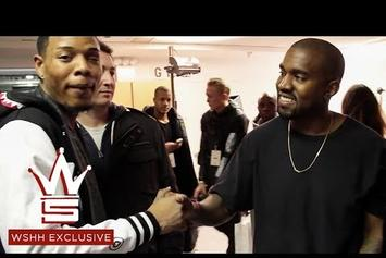 "Meeting & Performing With Kanye West ""The Other Day"""