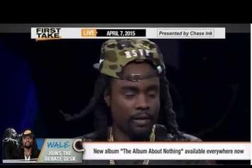 Wale Visits ESPN's First Take
