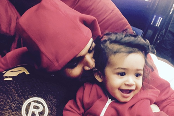Chris Brown Shares Photos Of His Daughter Royalty