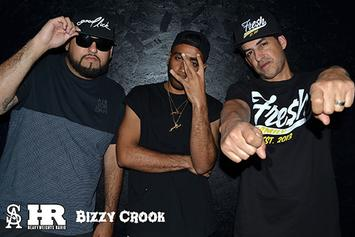 "Bizzy Crook's ""Heavyweights Radio"" Freestyle"