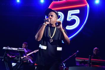 """Jay Z Disses Spotify & YouTube During Freestyle At TIDAL's """"B-Sides"""" Concert"""