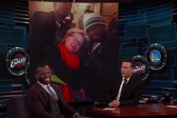 50 Cent Talks About Hanging Out With Meryl Streep