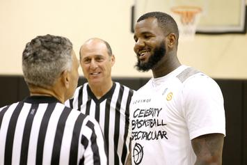 The Game Turns Himself In For Basketball Fight Charges