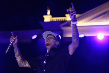 Chris Brown Decided To Post Photoshopped Picture Of Himself, Tupac & Suge Knight