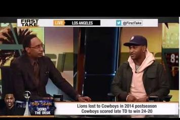 "Big Sean Talks Detroit Lions, Steph Curry On ESPN's ""First Take"""