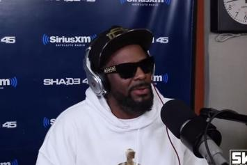 """R. Kelly's """"5 Fingers Of Death"""" Freestyle & Interview On Sway In The Morning"""