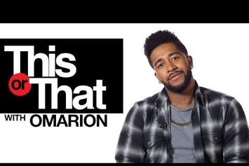 """Omarion Plays """"This Or That"""""""