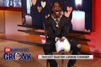Travi$ Scott Reads Some Gronk-Inspired Erotic Fiction On ESPN