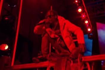 "Travi$ Scott Performs ""Antidote"" On Jimmy Kimmel"