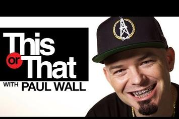 "Paul Wall Plays ""This Or That"""