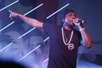 "Pusha T Reveals ""Darkest Before Dawn"" Artwork"