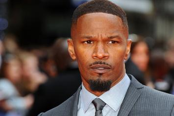 Jamie Foxx Saves Man From A Fiery Car Crash