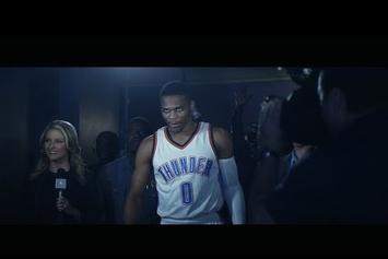 Russell Westbrook Walks Out To Run The Jewels In Jordan XXX Ad
