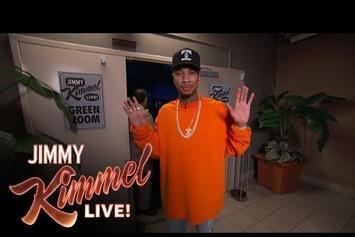 Tyga Re-Enacts Paul McCartney Incident On Jimmy Kimmel Live