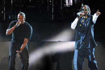 """Snoop Dogg Says Tour With Dr. Dre, Kendrick Lamar, & Eminem """"Could Become Reality"""""""