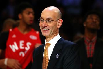 NBA Commissioner Adam Silver Thinks Nike Is Better For The NBA Than Adidas