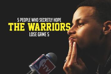 5 People Who Are Secretly Hoping The Warriors Lose Game 5
