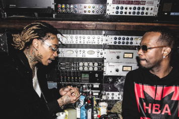 "Here's The Cover Art To Wiz Khalifa, Juicy J & TM88's ""Rude Awakening"""