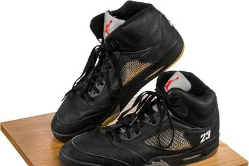 Game-Worn Air Jordans, Once Owned By Whitney Houston, Go Up For Auction