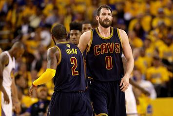Kevin Love Will Not Be Allowed To Play In Game 3 Of The NBA Finals Tonight